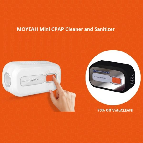 Cpap Cleaner And Sanitizer Mini Portable Cleaning Kit For Resmed  Respironics Tube And Mask